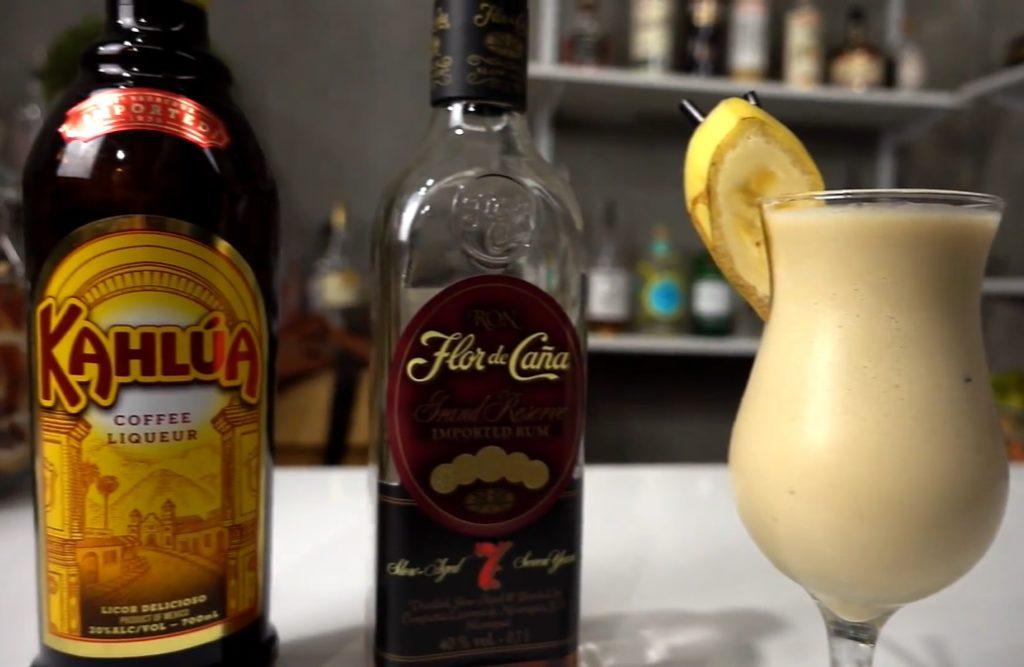 3. Dirty Banana Cocktail - Easy Kaffee Cocktail zum nachmixen