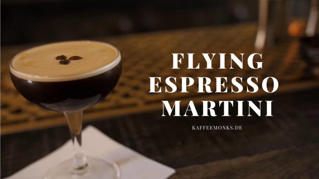 Absinth Espresso Martini