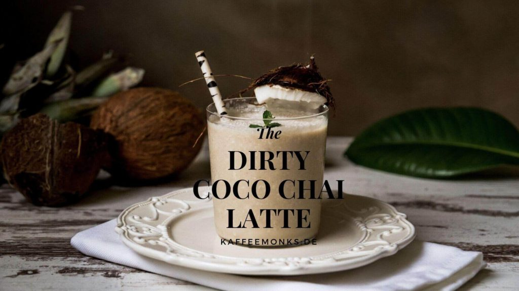 Dirty Coco Chai Latte Cocktail