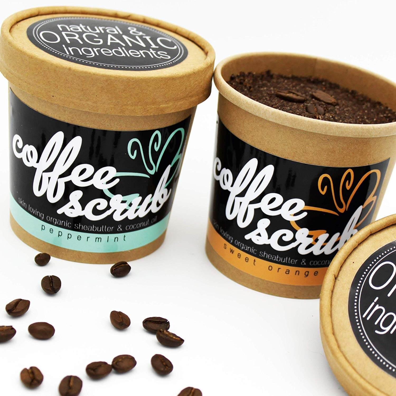 Coffee Body Scrub, Körperpeeling mit Kaffee
