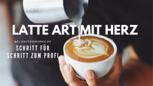 LATTE ART MIT HERZ
