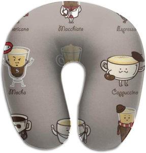 Nackenkissen Geschenk für Kaffeesüchtige