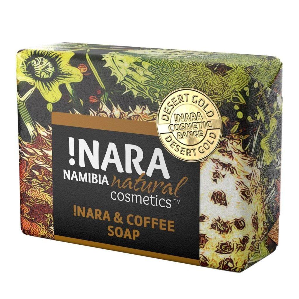 Naturkosmetik Seife mit Kaffee und Zimt