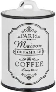 dekorative Kaffeedose