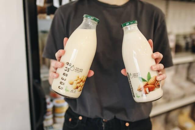 Wleche Milch für Milchschaum