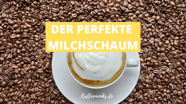 Read more about the article MILCHSCHAUM SELBER MACHEN