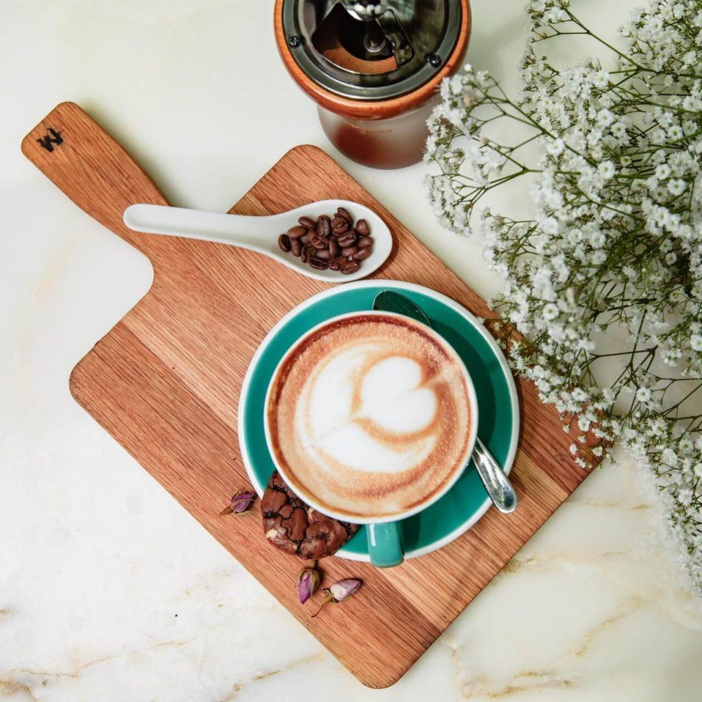 Kaffee gesund anrichten