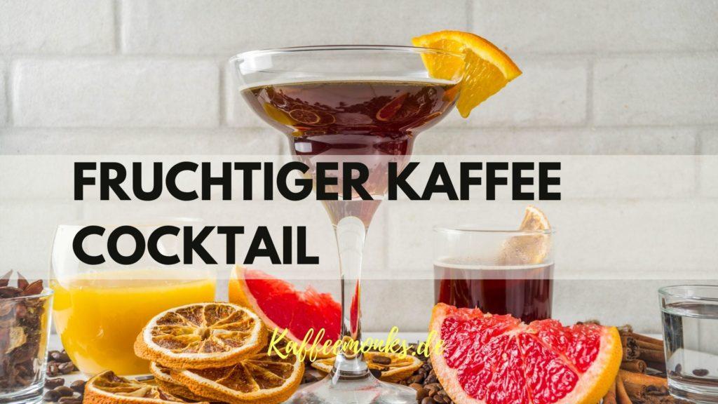 Fruchtiger Kaffee Cocktail