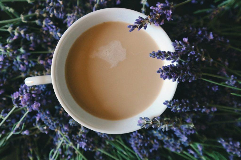 Lavendel Kaffee