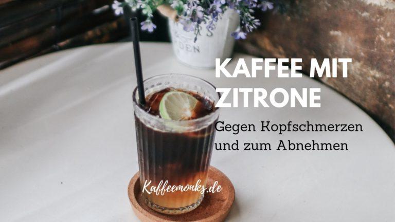 Read more about the article HILFT KAFFEE MIT ZITRONE BEIM ABNEHMEN?