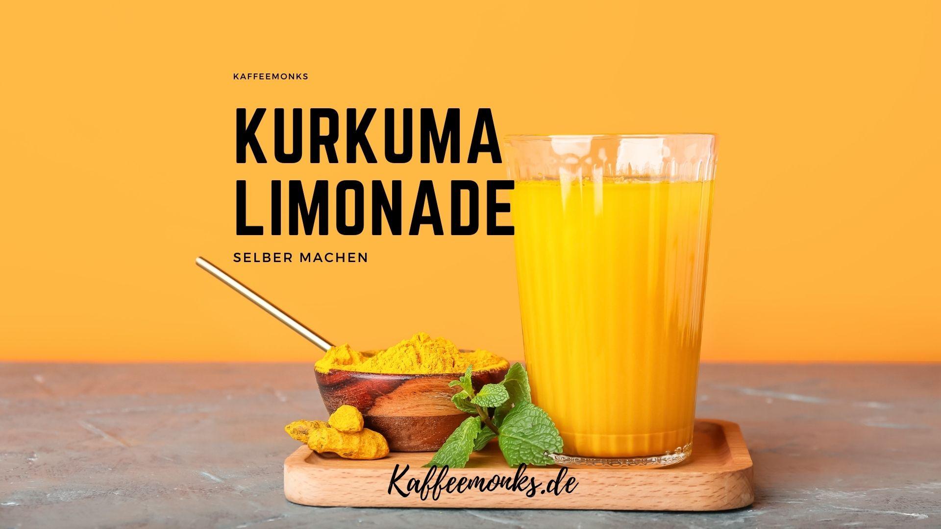 You are currently viewing KURKUMA LIMONADE: DAS GENIALE SUPERFOOD ALS GETRÄNK